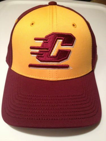 NCAA Central Michigan Chippewas Fitted Hat Size 7 1/4