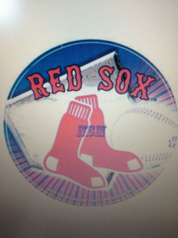 "MLB Boston Red Sox 4.5"" Vinyl Decal Sticker"