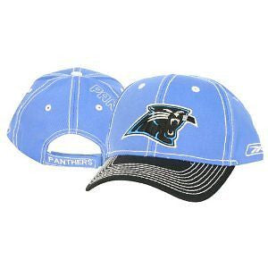 "NFL Carolina Panthers Adjustable ""Stitch"" Hat"