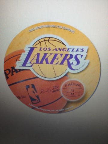 NBA Los Angeles Lakers Round Vinyl Decal