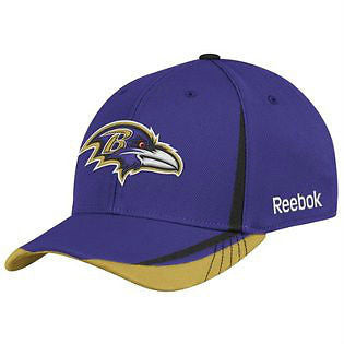 NFL Baltimore Ravens Flex Fit Hat - L/XL