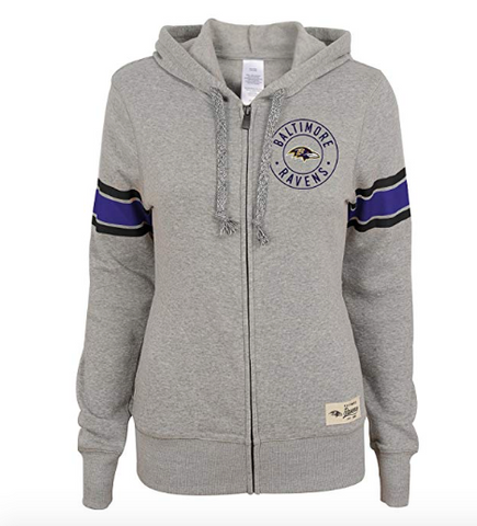 NFL Baltimore Ravens Juniors Zip Up Hoodie