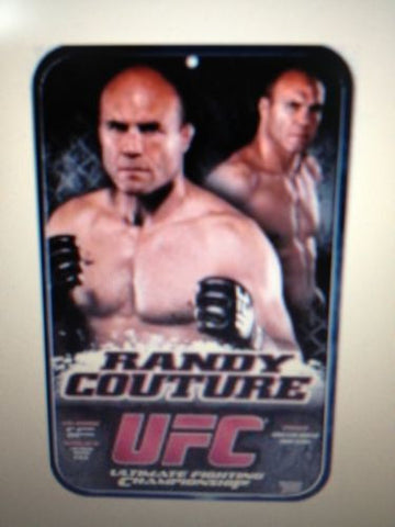 UFC Randy Couture Locker Room/Parking Sign