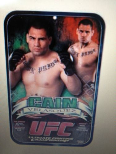 UFC Cain Velasquez Locker Room/Parking Sign