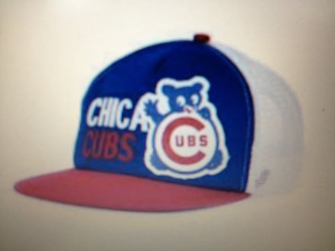 "MLB Chicago Cubs Adult Adjustable ""Soul Bear"" Hat"