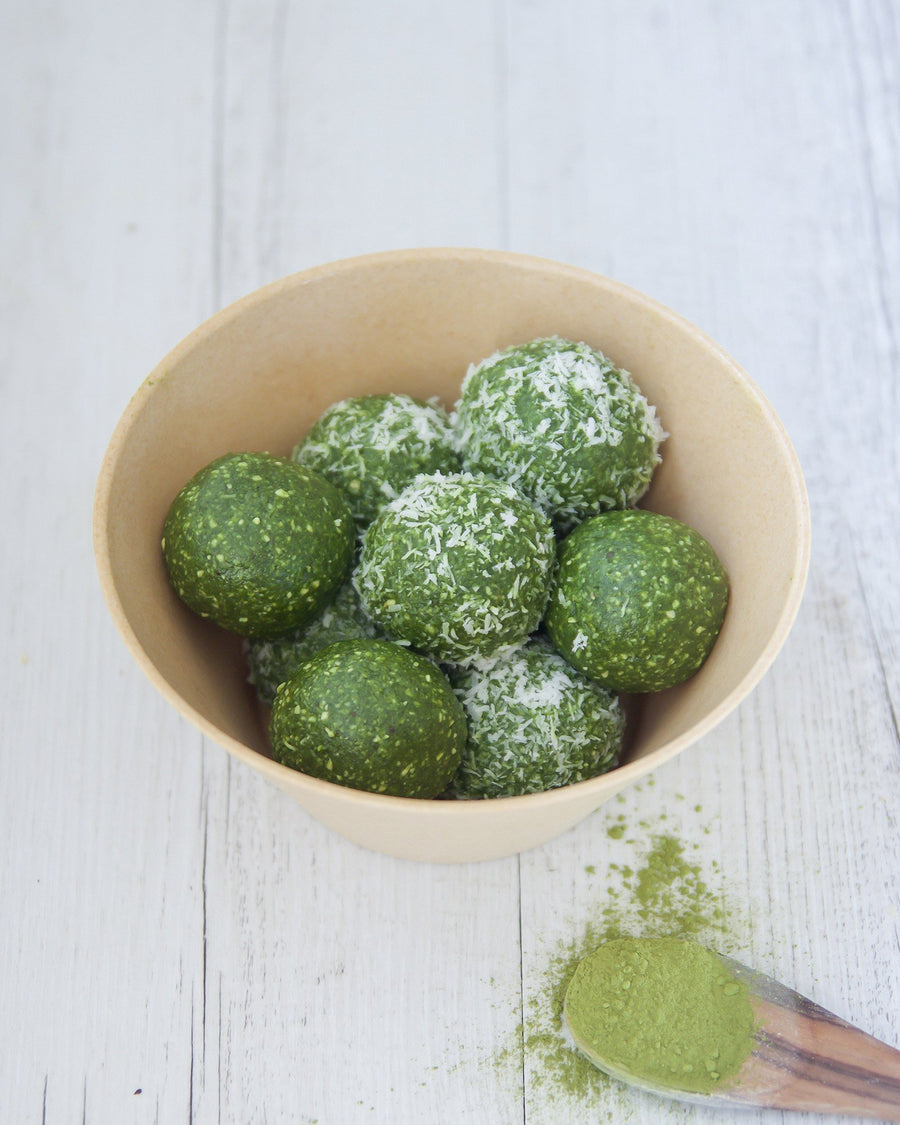 Superfood Matcha Energy Balls