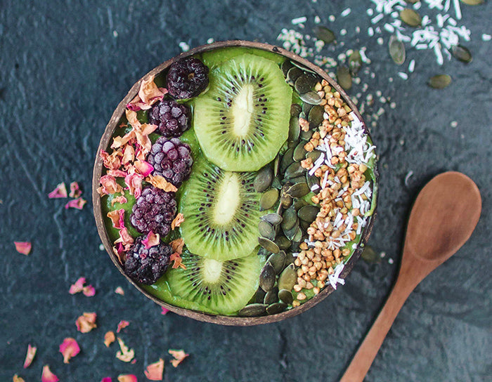 Green Super Smoothie Bowl