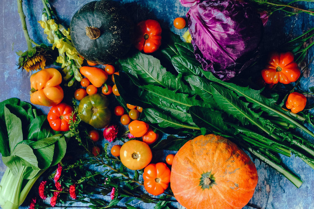vegetables and superfoods