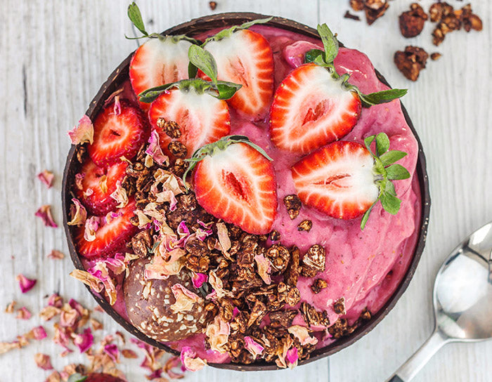 Protein Berry Froyo Bowl