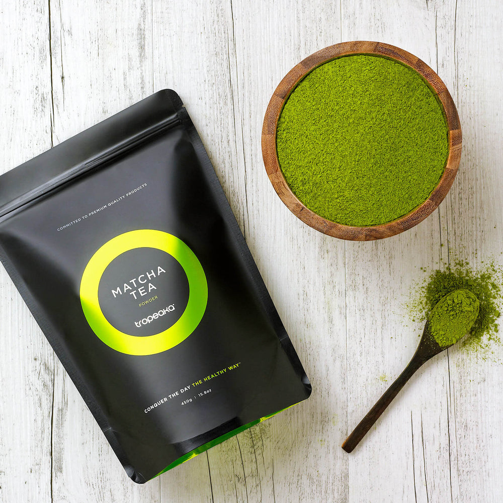 Tropeaka Matcha Tea Powder For Cell Protection From Free Radical Damage