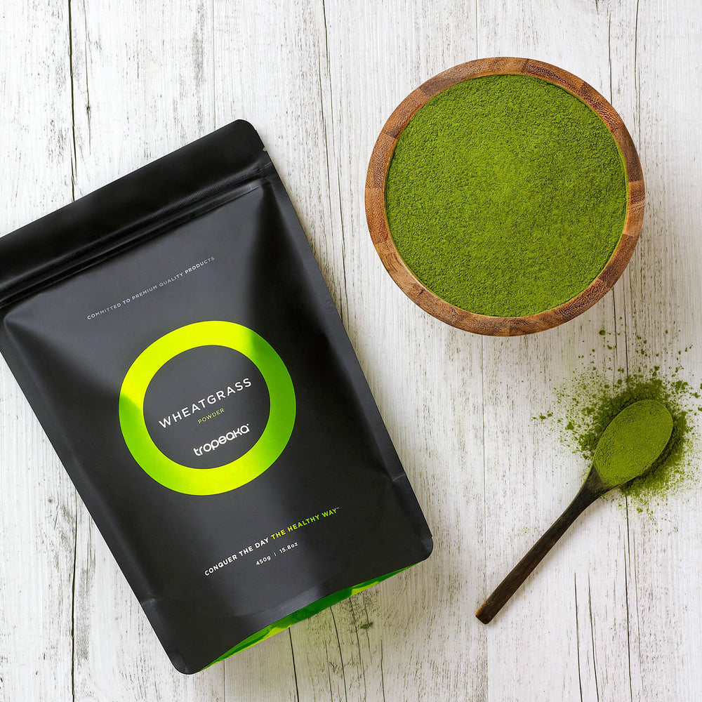 Tropeaka Wheatgrass Powder For Beneficial Cleansing And Immune System Boost