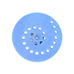 The foam wheel of a Circuit Scribe Motor Module on a white background.