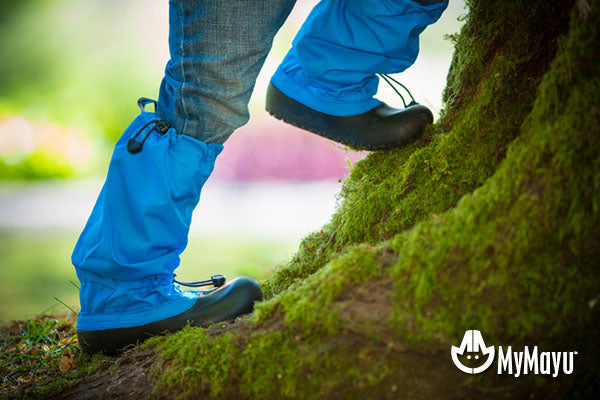 MyMayu Boots protect kids' legs from the environment