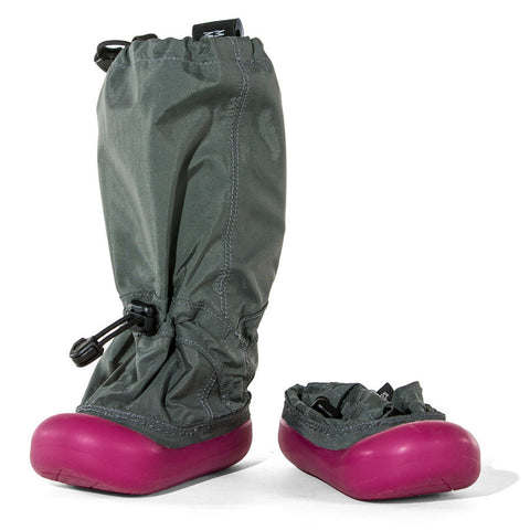 MM - Gray/Pink - Lightweight Outdoor Boots (Infant & Toddler)