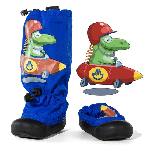 MM - Blue Speedster - Lightweight Outdoor Boots (Infant & Toddler)