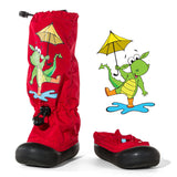 Muddy Munchkins Outdoor Boots Red Dragon