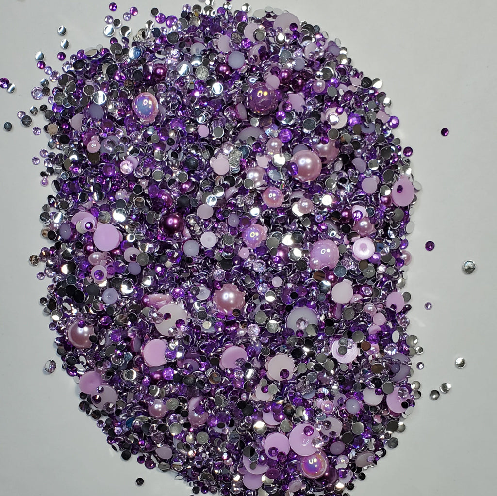 Bling  Mix Purples #11