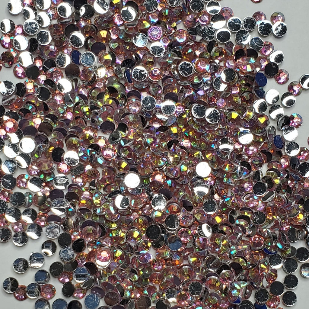 Champagne Sparkle Rhinestones  -  2mm - 6mm You pick Size