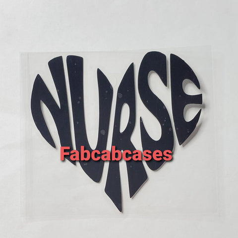 Nurse Vinyl Decal