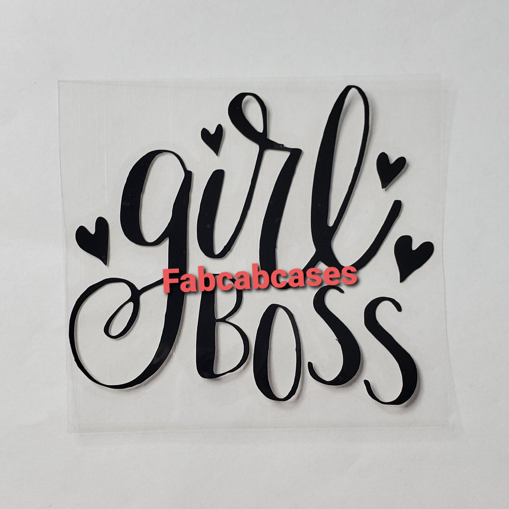Girl Boss Vinyl Decal