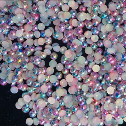 Rainbow Spotted Pearls