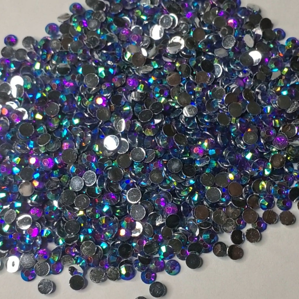 Dragon Scales Rhinestones  -  2mm - 6mm You pick Size