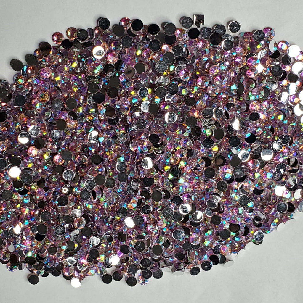 Pink Passion  Rhinestones  -  2mm - 6mm You pick Size