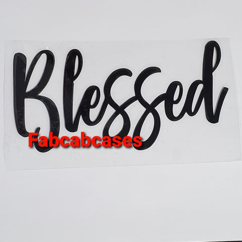 Blessed Vinyl Decal