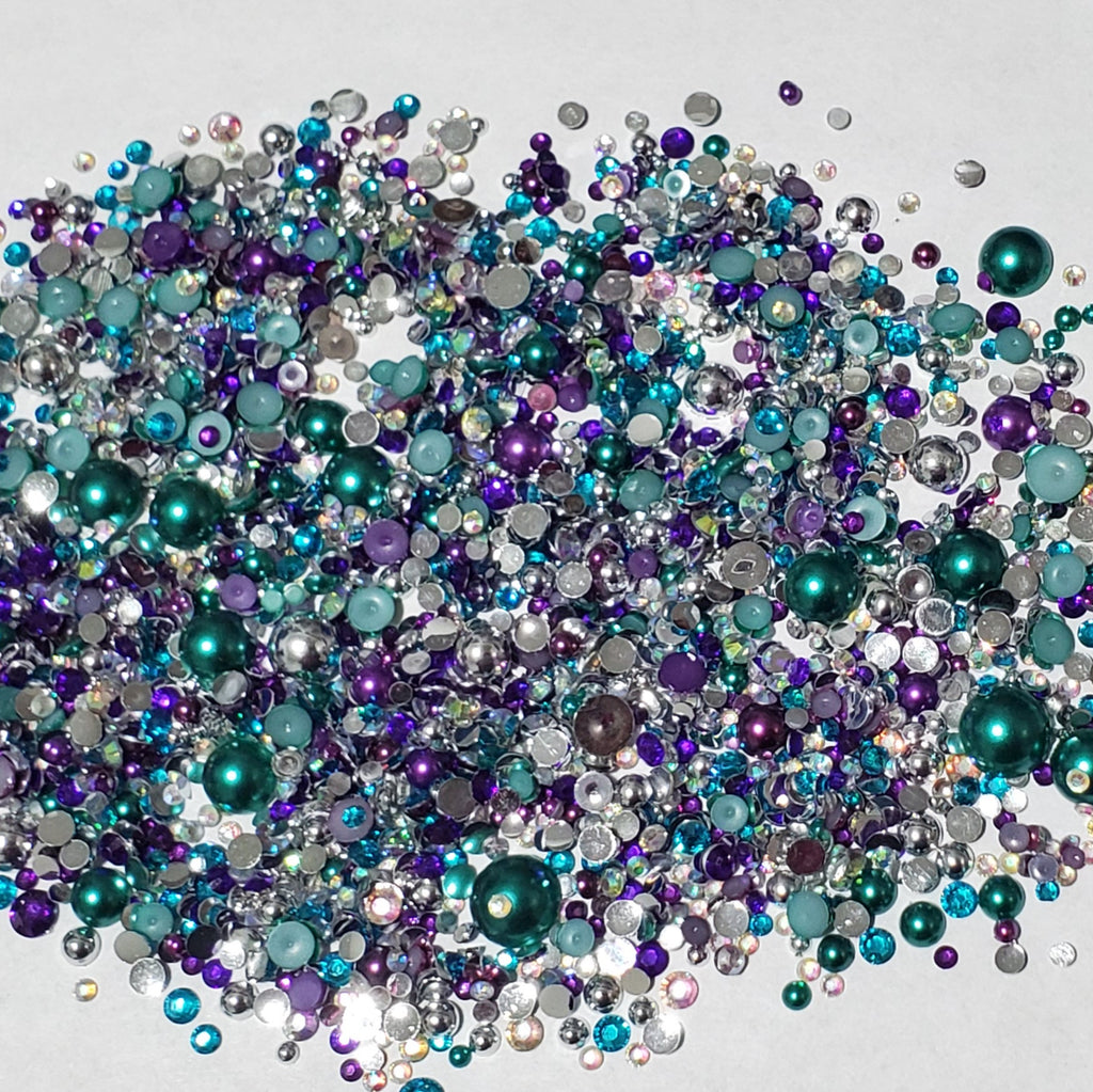 Bling mix - Mermaid Tails Purple