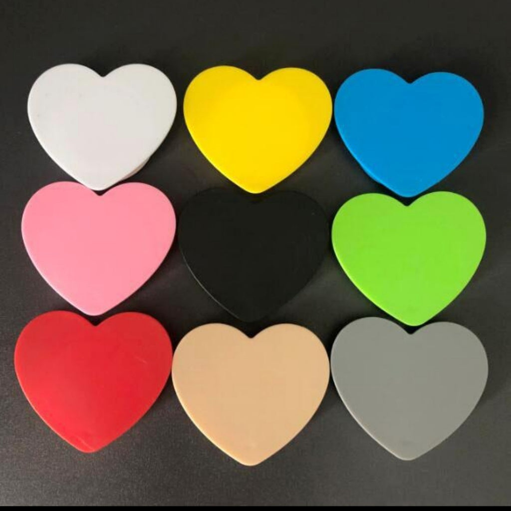 10pc Heart Shape Phone Stands