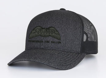 Black on Black Logo Hat