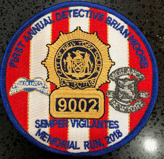 Detective Brian Moore Memorial Patch