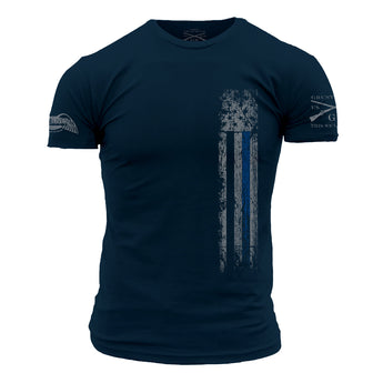 GRUNT STYLE/ BLUE LIVES Blue Line Tee