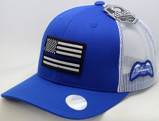 BLUE LIVES MATTER-NYC Trucker Style Hats