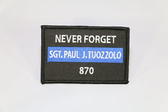 Patches4paul Sgt. Paul Tuozzolo Memorial Vest Patch