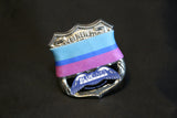 Thin Blue Line Suicide Awareness Mourning Band