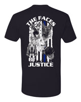 The Faces of Justice K-9 Tee