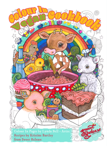 Colour In Vegan Cookbook - (Downloadable to print)