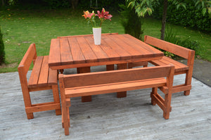 Piha Outdoor Dining Set - FourLeaf  - 5