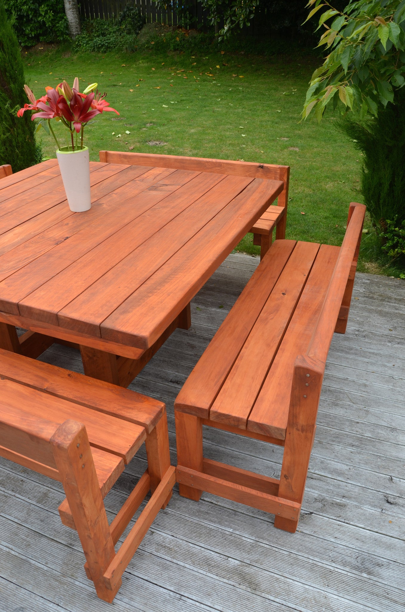 Piha Outdoor Dining Set - FourLeaf  - 4