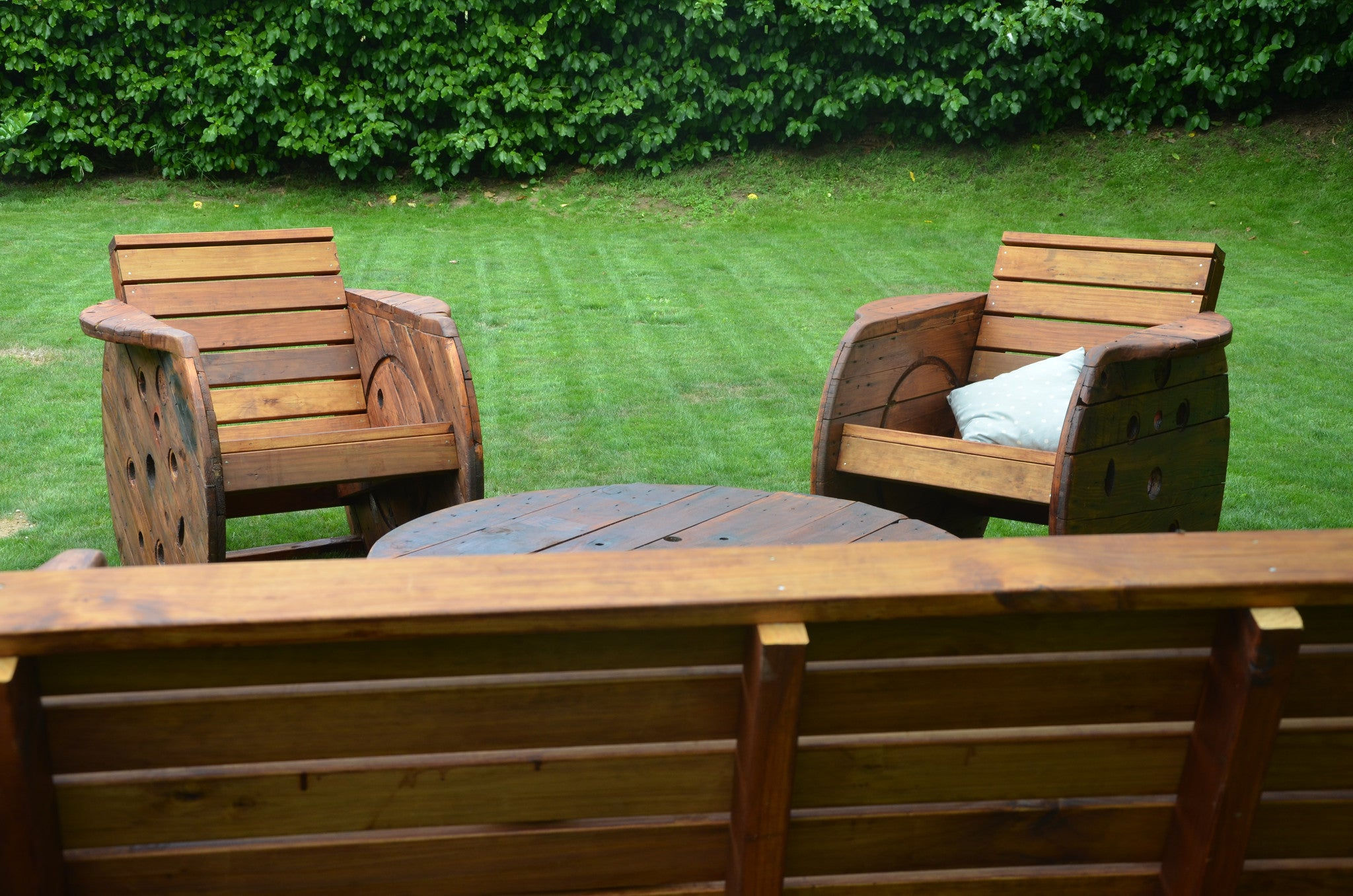 Up-cycled Outdoor Lounge Suite. - FourLeaf  - 4