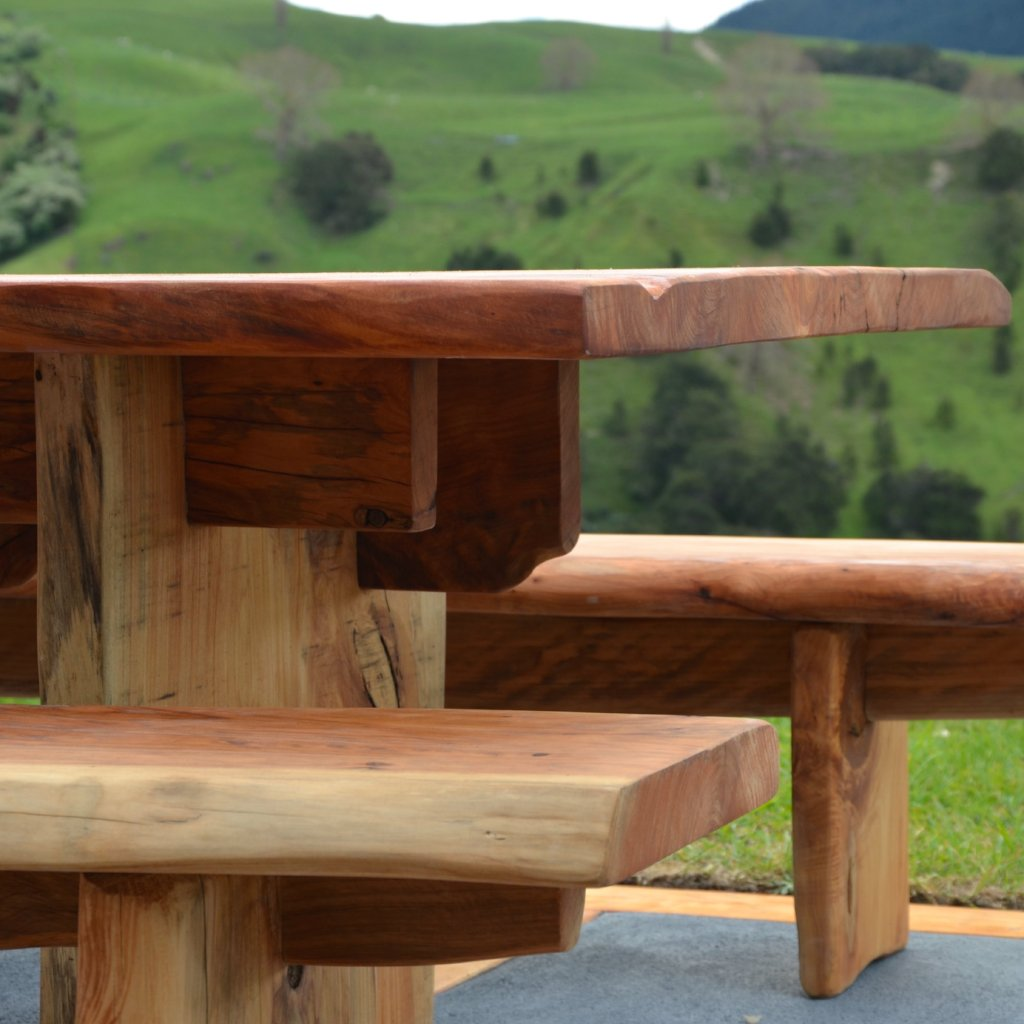 Hikutaia slab table