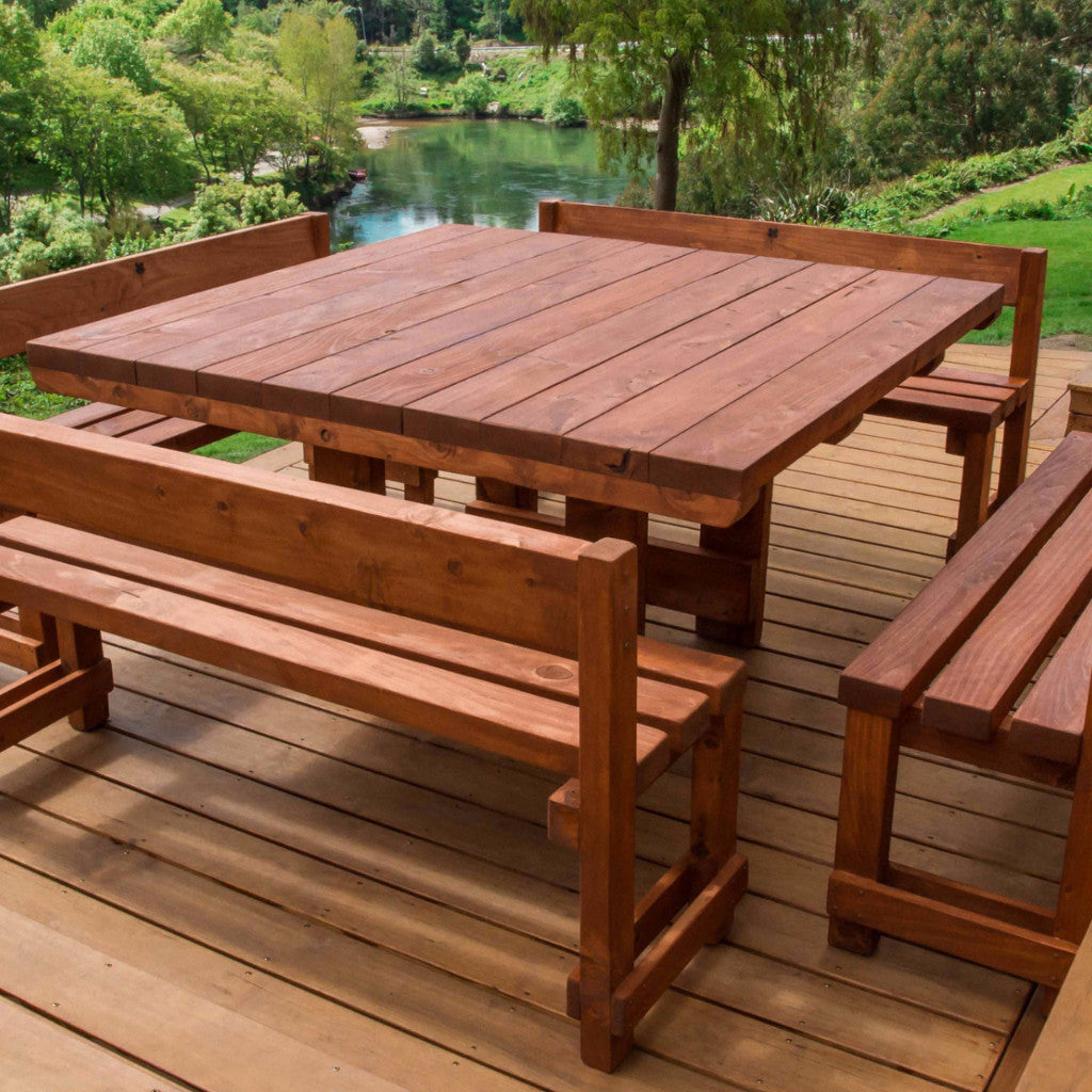 Piha Outdoor Dining Set - FourLeaf  - 1