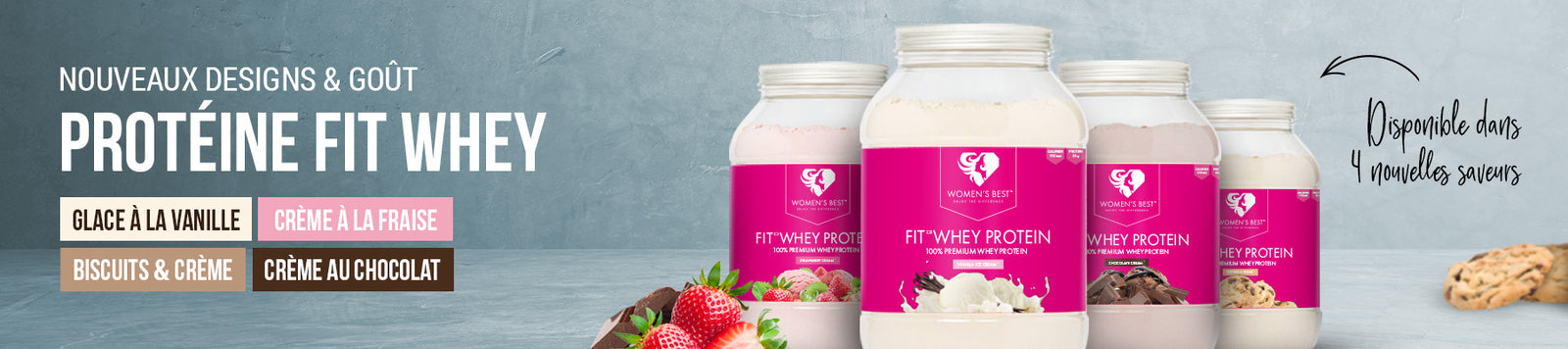 fit whey launch