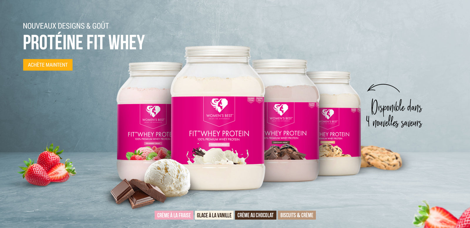 fitwhey new flavor