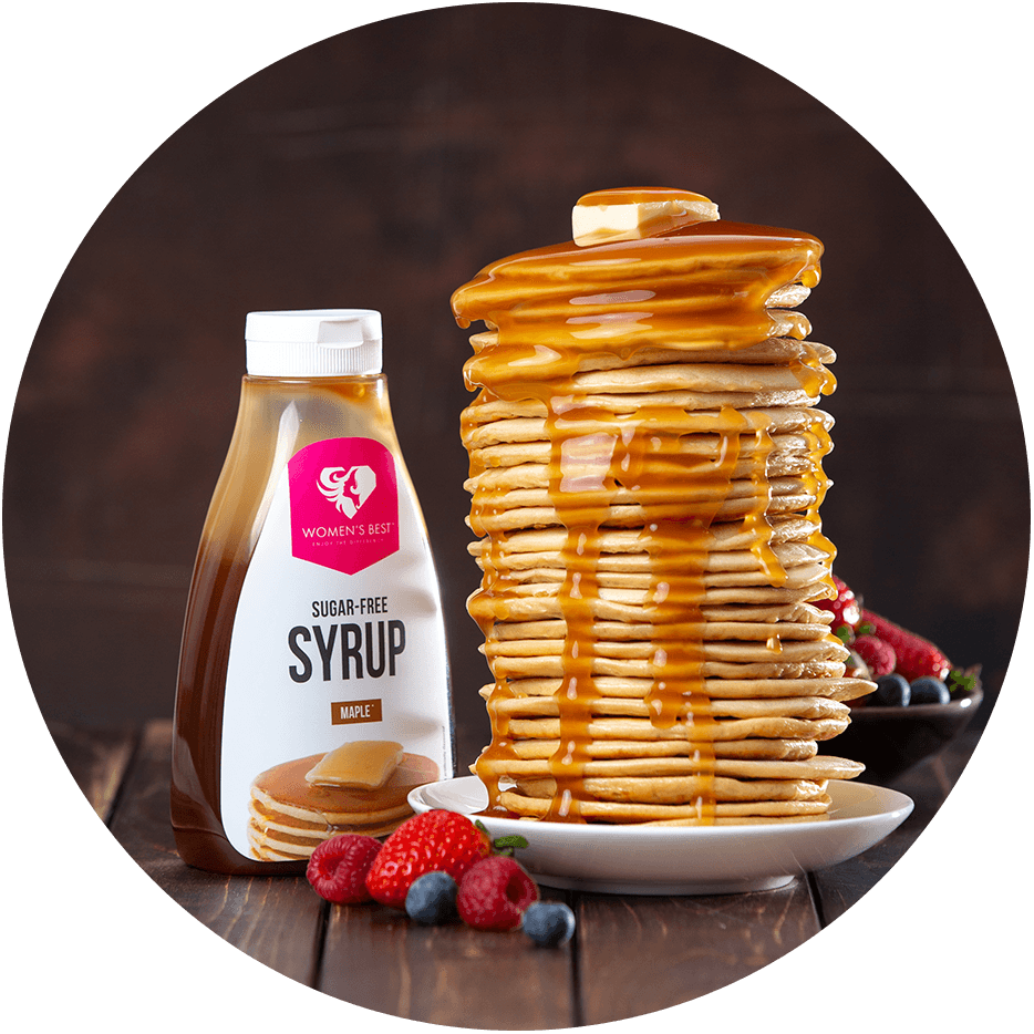 Maple syrup without sugar isn't a thing?With us, it is.