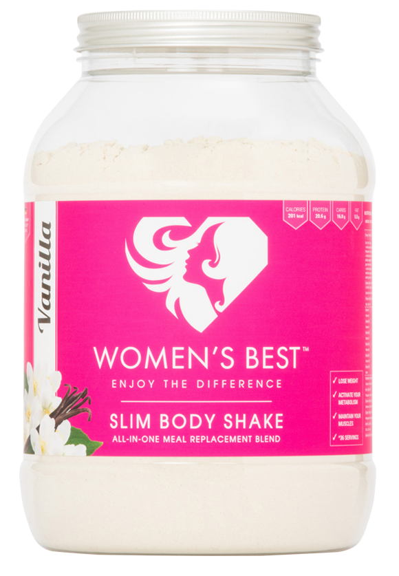 Our Slim Body Shake vs. other manufacturers - Meets EFSA requirements, Whole meal replacement, Contains vitamins and minerals, Premium proteins, Contains superfoods