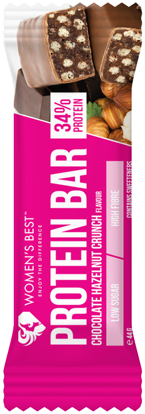 How did we develop our delicious Protein Bar? - High amount of protein, Perfect size, Low carb & low sugar, Soft and crunchy, Valuable dietary fiber