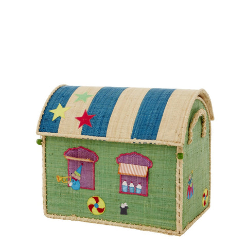 Rice DK House Toy Basket 'Circus' - small