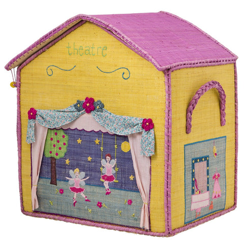Rice DK House Toy Baskets 'Girl's Houses' - Set of 3